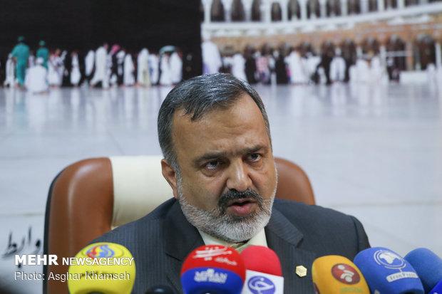 تصاویر نشست خبری رئیس سازمان حج و زیارت - 4