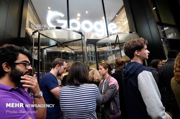 اعتراض کارکنان گوگل به آزار زنان - 12