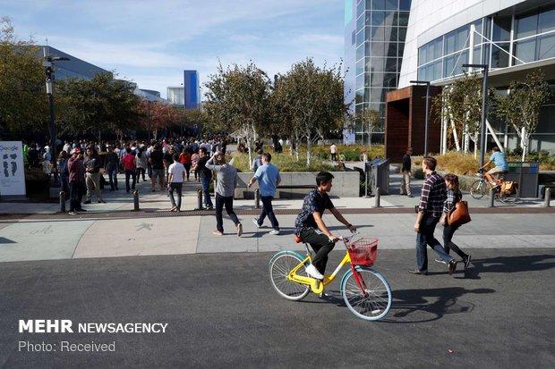 اعتراض کارکنان گوگل به آزار زنان - 1