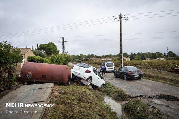 خسارات سیل در فرانسه - 40