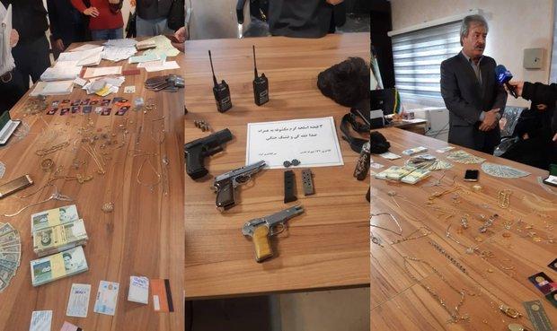 مامور قلابی سرقت مسلحانه ۵۰ میلیاردی را رقم زد