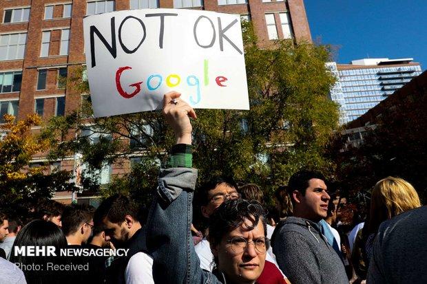 اعتراض کارکنان گوگل به آزار زنان - 4