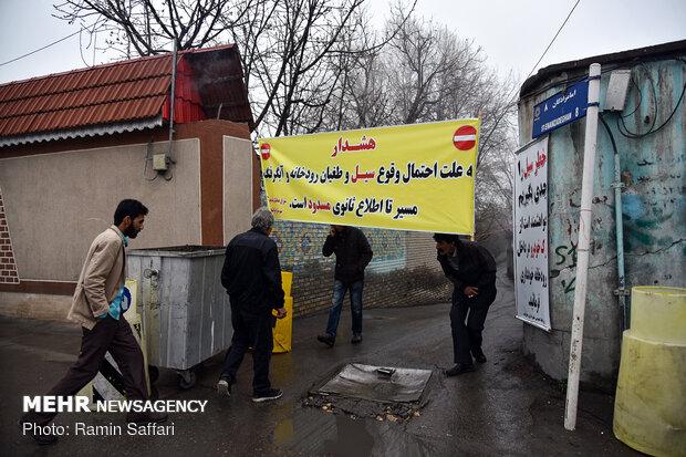 طغیان مسیل اصلی شهر مشهد - 33