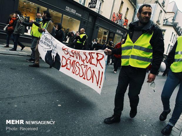 سیزدهمین شنبه اعتراضات در فرانسه - 31