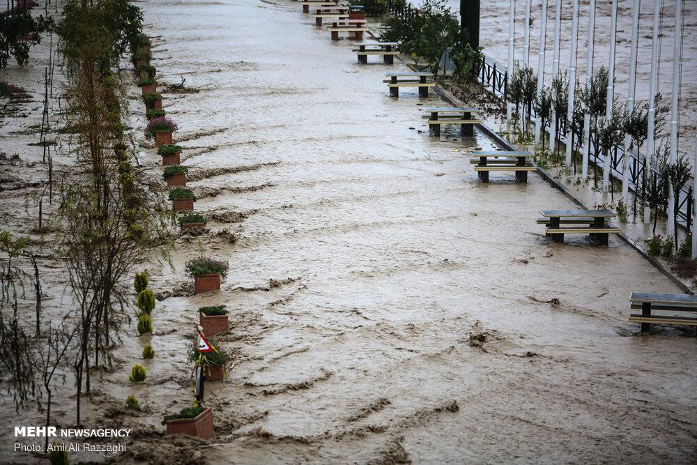 رکوردشکنی بارش و برف در مازندران - 5