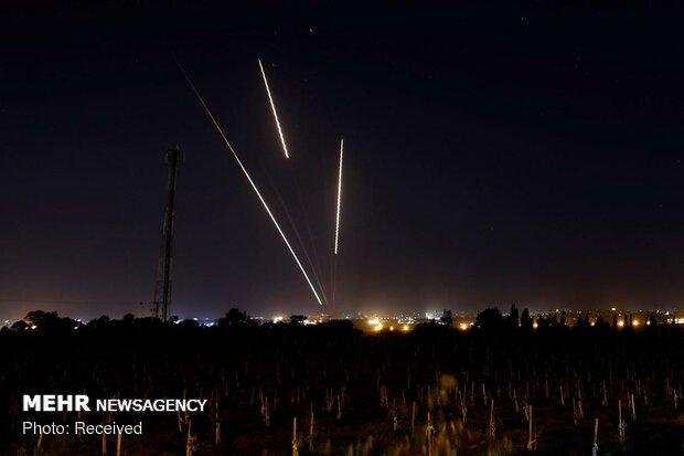 بمباران غزه توسط جنگندههای صهیونیستی - 1