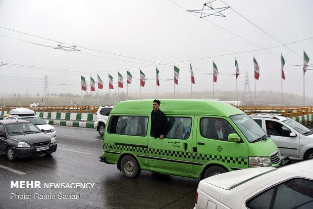 طغیان مسیل اصلی شهر مشهد - 21