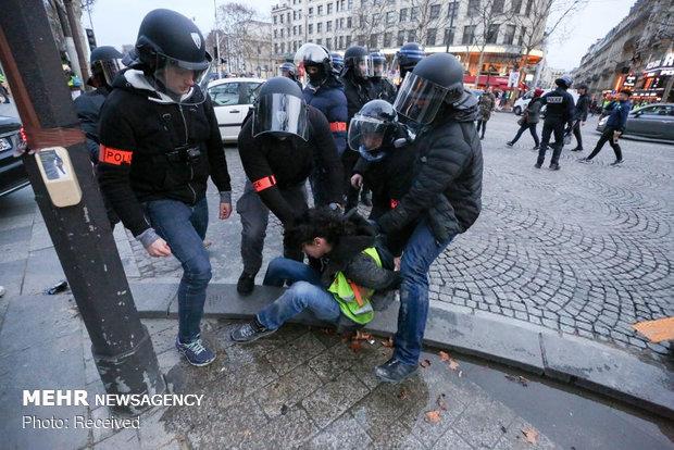 سیزدهمین شنبه اعتراضات در فرانسه - 26