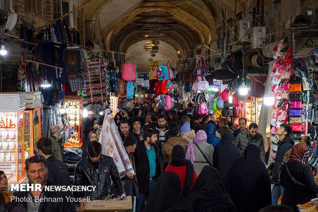 تب و تاب بازار اراک در آستانه نوروز - 8