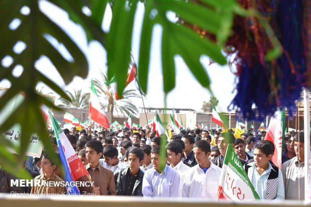 راهپیمایی استکبار ستیزی ۱۳ آبان در استانها - 34