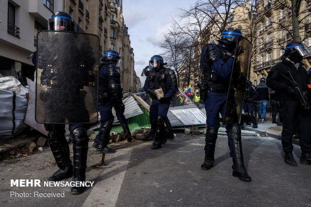 سیزدهمین شنبه اعتراضات در فرانسه - 51