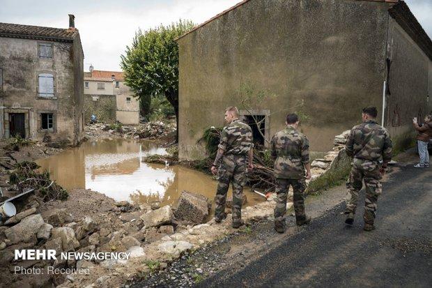 خسارات سیل در فرانسه - 14