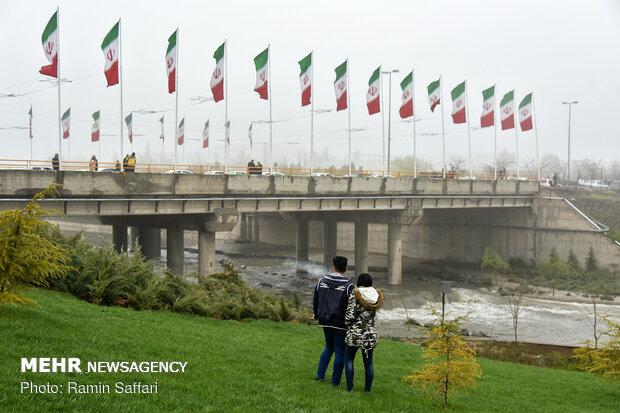 طغیان مسیل اصلی شهر مشهد - 57