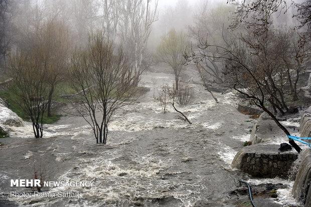 طغیان مسیل اصلی شهر مشهد - 27