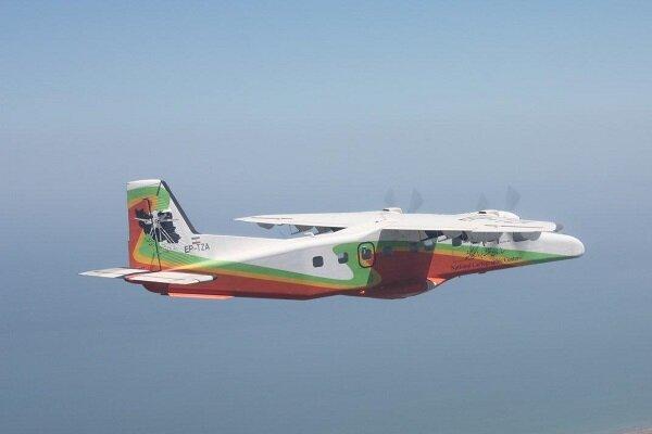 دومین هواپیمای سازمان نقشه برداری عملیاتی شد