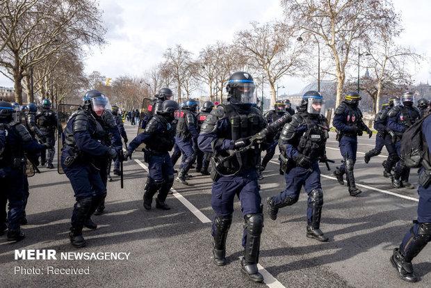سیزدهمین شنبه اعتراضات در فرانسه - 53