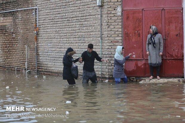 شدت گرفتن سیلاب در روستاهای استان گلستان - 39