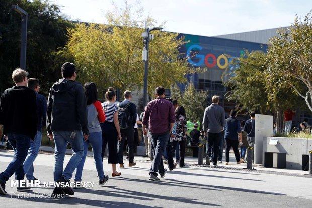 اعتراض کارکنان گوگل به آزار زنان - 14