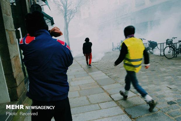 سیزدهمین شنبه اعتراضات در فرانسه - 35