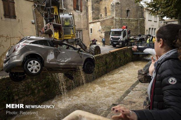 خسارات سیل در فرانسه - 16