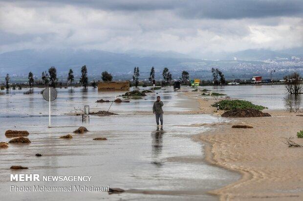شدت گرفتن سیلاب در روستاهای استان گلستان - 5
