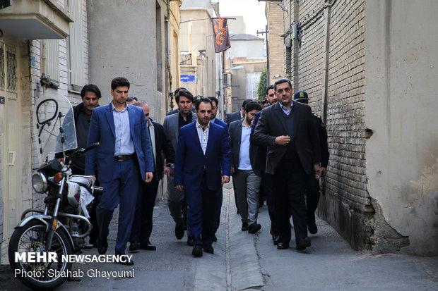 بازدید شهردار تهران از خانه موزه مدرس - 28