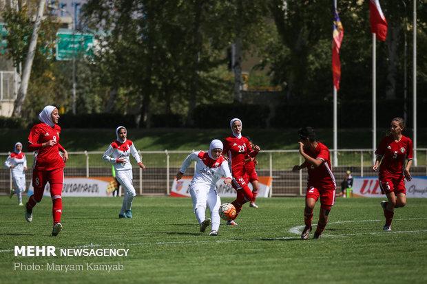 دیدار فوتبال دختران ایران و اردن - 26