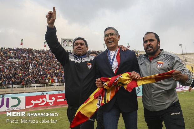 دیدار تیمهای فوتبال فولاد خوزستان و پرسپولیس تهران - 117