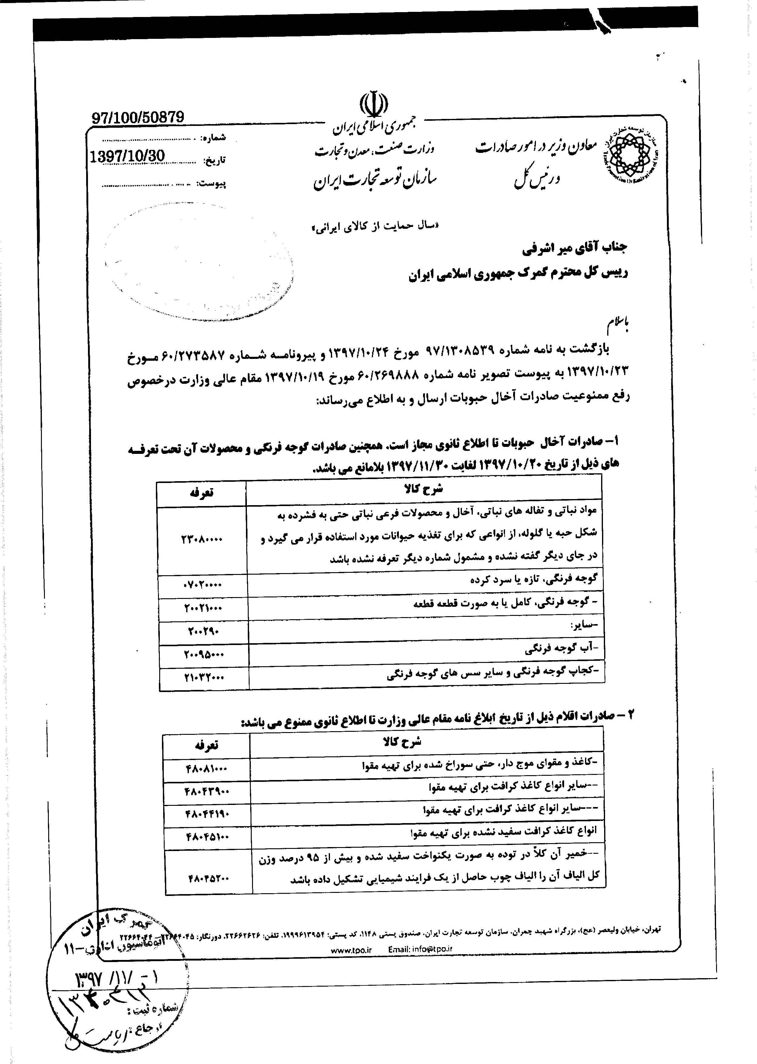 صادرات گوجه آزاد شد - 6