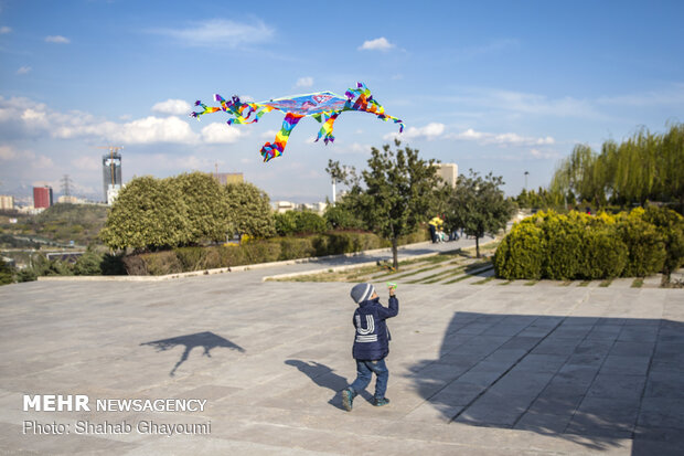 حال و هوای تهران در تعطیلات عید - 1