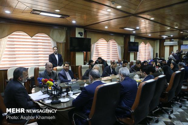 تصاویر نشست خبری رئیس سازمان حج و زیارت - 1