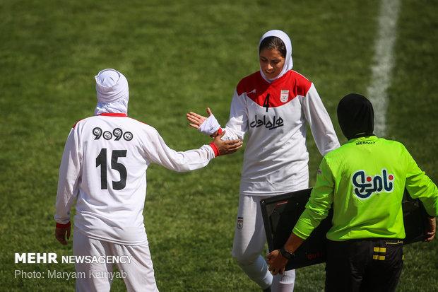 دیدار فوتبال دختران ایران و اردن - 58