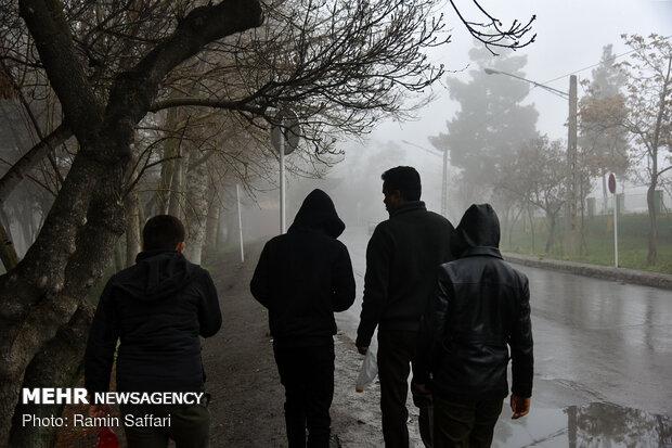 طغیان مسیل اصلی شهر مشهد - 1