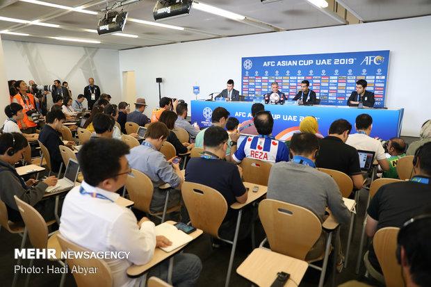 نشست خبری سرمربی تیم ملی فوتبال پیش از دیدار با ژاپن - 19