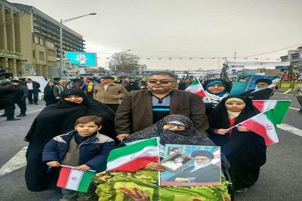 حاشیههای راهپیمایی ۲۲ بهمن در ارومیه/سرما مانع حضور نشد