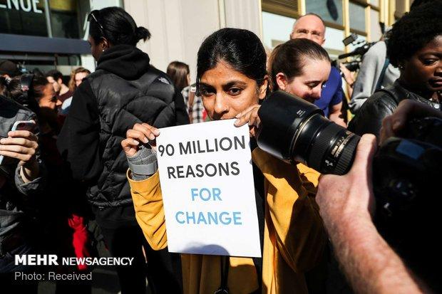 اعتراض کارکنان گوگل به آزار زنان - 6
