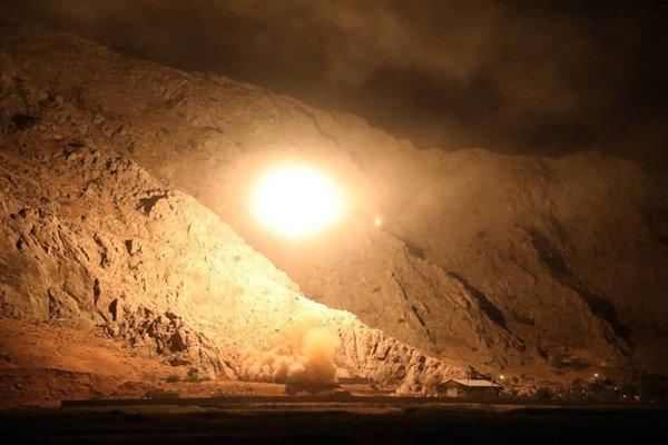 نخستین تصاویر حمله موشکی سپاه به مقر تروریست ها - 7
