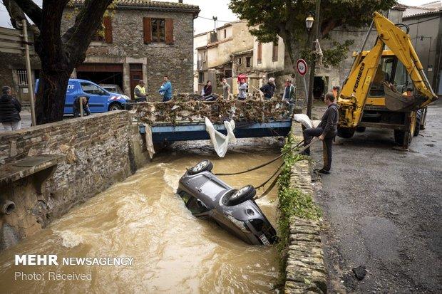 خسارات سیل در فرانسه - 22