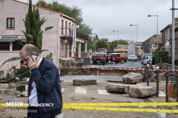 خسارات سیل در فرانسه - 32