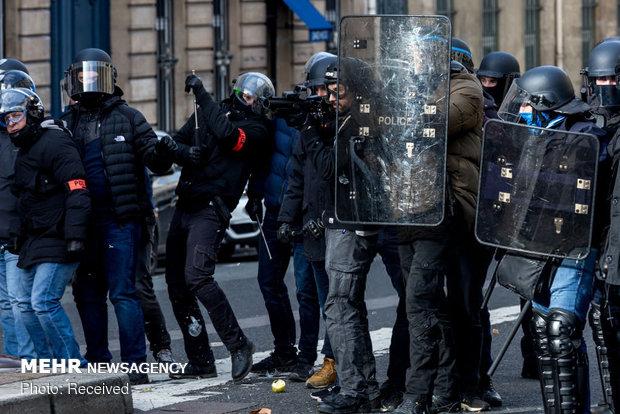 سیزدهمین شنبه اعتراضات در فرانسه - 49