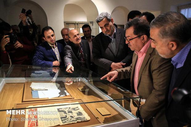 بازدید شهردار تهران از خانه موزه مدرس - 46