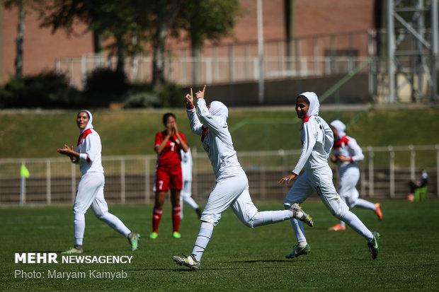 دیدار فوتبال دختران ایران و اردن - 28
