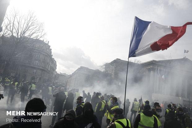 سیزدهمین شنبه اعتراضات در فرانسه - 12