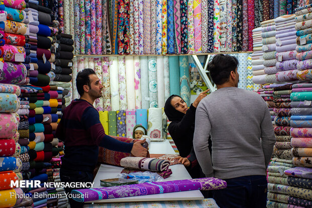 تب و تاب بازار اراک در آستانه نوروز - 20