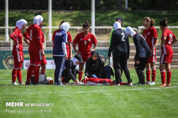 دیدار فوتبال دختران ایران و اردن - 30