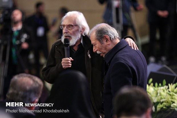 خاطره مشایخی از نقشی که نصیریان به او داد/ دعا برای ملت ایران