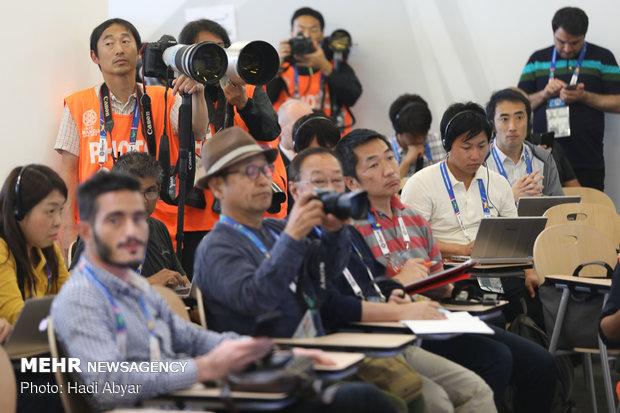 نشست خبری سرمربی تیم ملی فوتبال پیش از دیدار با ژاپن - 27