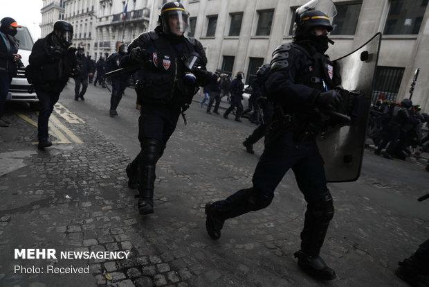 سیزدهمین شنبه اعتراضات در فرانسه - 14