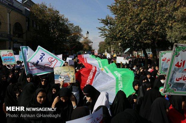 راهپیمایی استکبار ستیزی ۱۳ آبان در استانها - 20