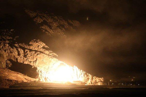 نخستین تصاویر حمله موشکی سپاه به مقر تروریست ها - 6